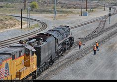 RailPictures.Net Photo: UP 4014 Union Pacific Steam 4-8-8-4 at West Colton, California by Martin Young