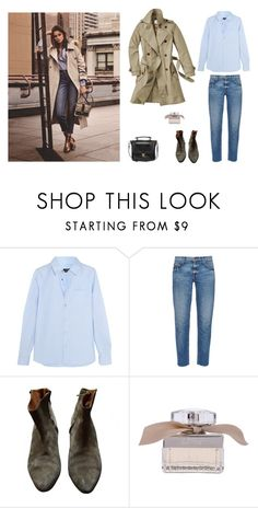"""Untitled #362"" by yanghaizi ❤ liked on Polyvore featuring Aigle, A.P.C., Current/Elliott, Isabel Marant, Chloé and Pieces"