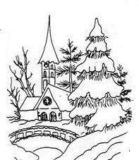 Motieven Kerst - Landschap/Dorpjes - Kerken - Arie van der Linden - Picasa Web Albums