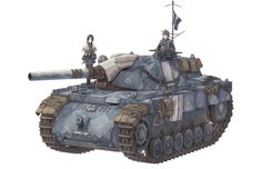 M18 Hellcat hull styling with PzIII tracks and suspension.  Apparently from a video game called Valkyria Chronicles.