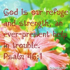 Psalm 46:1 - Hi sweet sister DeDe, My thoughts & prayers are w/you-just now 2/26/14 12:49 AM cst able to see in our P. board where you were going to have a polyp or cyst removed? I've been praying for you in the past few weeks & months - felt something was up just didn't know what-Let me know what the Dr's say sis-I love you & thank God for you daily. get plenty of rest & don't lift anything-keep your feet up & do what Doc says. I know God's got this under control. LY Kj