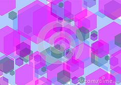 Hexagonal background texture for the background file