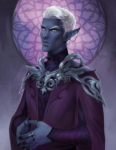 Dungeons And Dragons Characters, Dnd Characters, Fantasy Characters, Critical Role Characters, Critical Role Fan Art, Drow Male, Half Drow, Critical Role Campaign 2, Character Concept