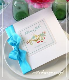 Zaproszenia ślubne Sweety. Product By / www.artedesigner.pl