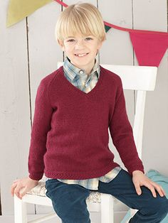 Design from Little Retro Knits Book (470) - 14 cosy hand knits for babies, boys and girls from birth to 7 years knitted in Sirdar Snuggly DK | English Yarns