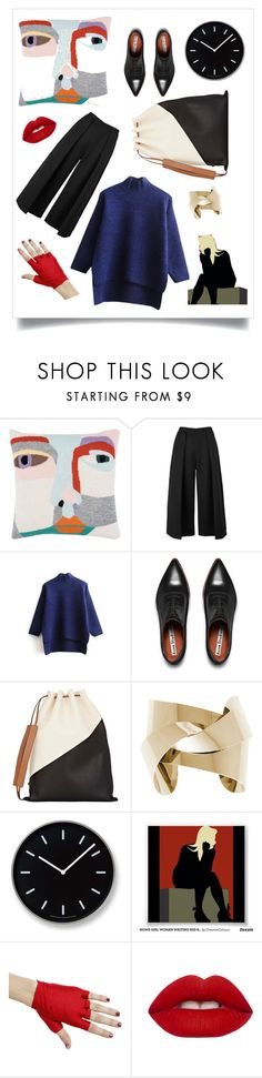 """""""Untitled #284"""" by fallinginlovewithlove on Polyvore featuring LuckyBoySunday, Keepsake the Label, Acne Studios, Marni, Lemnos, Lime Crime, women's clothing, women, female and woman"""