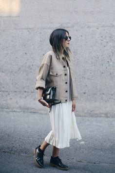 """lacooletchic: """" http://www.thefashionmedley.com/2015/09/03/two-in-one/ """""""