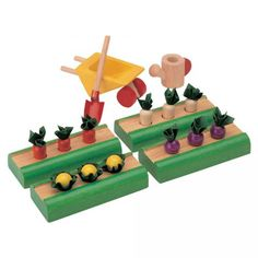 Vegetable garden to inspire your little one's green thumb.