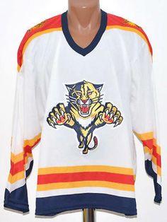 Wear Nhl Florida Panthers Usa Ice Hockey Shirt Jersey Maglia Regular Season Jacket 57*70 Cms Men White