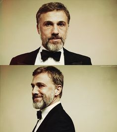 Christoph Waltz- It's the intelligence.  I have no idea if he really is intelligent, but all his characters are, so that's enough for me