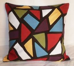 patchwork pillow by nopalito
