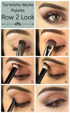 tartelette matte palette tutorial - Google Search
