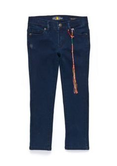 Lucky Brand Blue Midnight Zoe Stretch Jeans Girls 4-6X