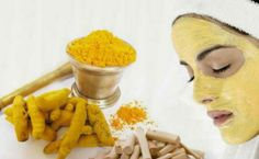 Turmeric skin mask  all natural dyi great for all skin types!!!