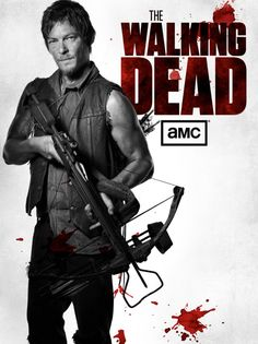 Daryl, The Walking Dead -he has become one of my favorite characters.