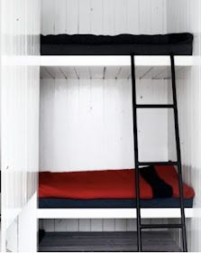 Scandinavian Retreat: Bunkbeds for the cabin