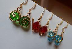 Zelda spirit stone earrings. Found on etsy