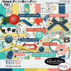 Besties - A Pickled Pairs Collab Kit:  Bellisae Designs & Jennifer Labre Designs  https://www.pickleberrypop.com/shop/product.php?productid=46189&cat=8&page=1