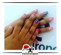 Lleva los más lindos decorados de uñas de nuestra sala de manicure y pedicure a cargo de nuestras expertas en el cuidado y belleza de tus manos y pies. Un lindo resultado de nuestra manicurista experta Mylena Villamizar Visítanos: Cll10 # 58-07 Santa Anita Citas: 3104444 #Belleza #Estilo #Look #Peluquería #Estética #SPA #Nails #Cali #CaliCo #Colombia