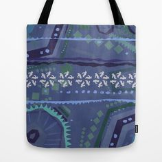 Winter Colors Tote Bag