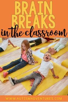 Need some fun brain breaks for the elementary classroom? These brain break ideas and activities for kids are great ways to expend energy and then get focused back on learning. Click the pin to see all the ideas! What Is Brain, Fun Brain, Physical Activities, Learning Activities, Activities For Kids, Autism Classroom, Special Education Classroom, Behavior Management, Classroom Management