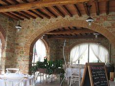 Restaurant @ Castello di Gabbiano, Chianti, Tuscany, Italy