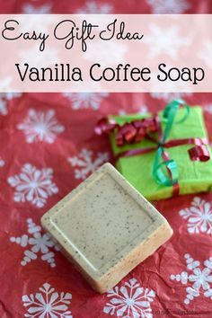 I love making handmade Christmas gifts. But the gift I make have to be easy so I get them done. That why this soap recipe is so great.  It's easy to make