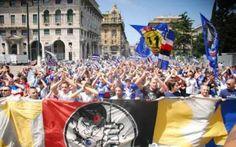 A Bogliasco una delegazione degli Ultras #sampdoria #ultras #lettera #derby
