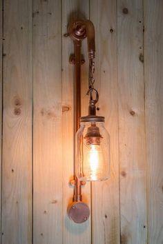 JUN/_W Vintage Industrial Pendant Light Steampunk Water Pipe Ceiling Chandelier Retro Metal Copper Tube Ceiling Lighting Adjustable Fixture