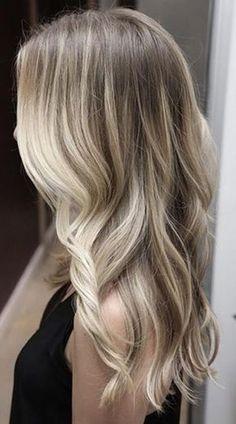 açık kum sarısı saç