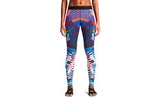 Nike Pro N+TC Tour LA Printed Tights for running and training - front
