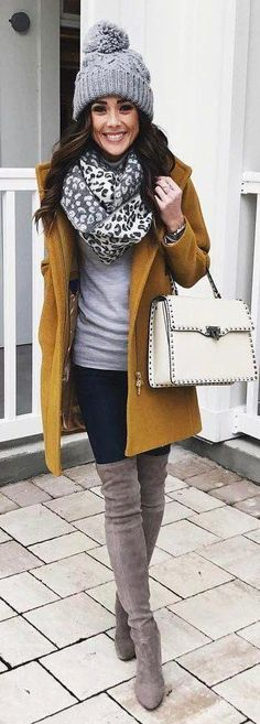 Ideas Fashion Winter Outfits Cold Weather Beanie For 2019 Winter Skinny Jeans Outfits, Winter Mode Outfits, Cold Weather Outfits, Winter Fashion Outfits, Autumn Winter Fashion, Fall Outfits, Outfit Winter, Jean Outfits, Fashion Dresses