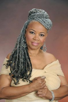 LOVE THE GREY LOCS
