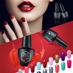 Elite99 nagel-gel-polnisches wunderschöne 59 farbe tränken weg vom uv lampe Gel Lak Professionellen Salon Nägel Malerei Gel Nagellacklack 10 ML/TEILE