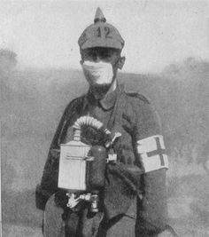 A British Soldier ready for the attack.  When Germany performed its first attack on Poland, this attempt failed due to wind patterns.  This alerted the opposing sides to an upcoming second attempt and so in just three days troops were provided with gas masks.  When a second attempt was made at this site, it failed.  Once again, the opposing side won the battle against the German Army that ensued.