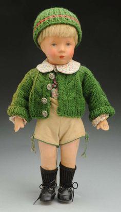 Puppe von Käthe Kruse. 1950.unserjahrgang.de
