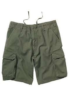 Ultra Force Olive Drab Vintage Paratrooper Cargo Shorts | Buy Now at camouflage.ca