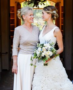Brides and their moms | Rob Greer Photography | blog.TheKnot.com