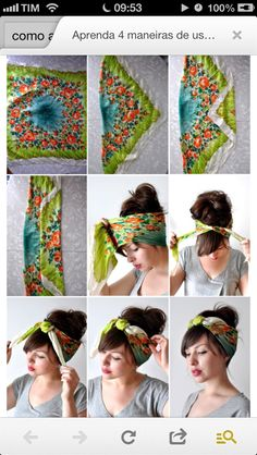 Best Indoor Garden Ideas for 2020 The number of internet users who are looking for… Hair Wrap Scarf, Hair Scarf Styles, Curly Hair Styles, Natural Hair Styles, Bandana Hairstyles, Scarf Hairstyles Short, Twist Headband, Hair Accessories For Women, Women's Accessories