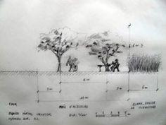 Esquisse 2 e Jardin d'hospitalité naîtra en 2013 de la réhabilitation du vaste parc de l'ancien hôpital Salvator, dans le respect de son harmonie patrimoniale. La création du Jardin a été confiée au paysagiste, botaniste Gilles Clément, maitre de chaire au Collège de France.