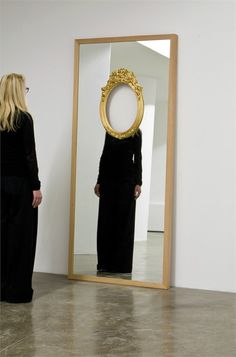 Ron Gilad The Face in the Mirror, 2011 (via)