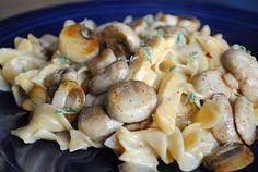 chicken & mushroom dinner