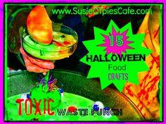 Easy and FUN DIY Halloween Foods, Halloween Crafts and tasty Halloween Treats