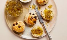 Tamal Ray's recipe for scones with green kiwi fruit jam | Life and style | The Guardian