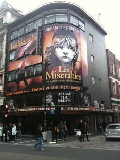 Movie was great but seeing Les Miserables in person in London's West End at the Queen's Theatre is indescribable.  Needs to be on the bucket list of everyone who loves the movie....