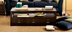 Best Home Images On Pinterest Modern Furniture Diners And - Pottery barn rhys coffee table