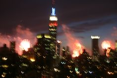 Midtown NYC July 4th