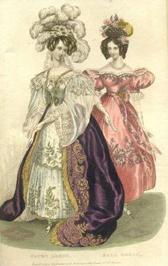 Журнал мод, 1835г.
