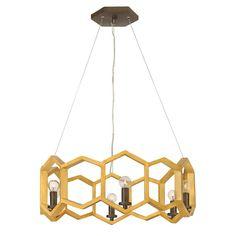 Fredrick Ramond Moxie 6 Light Chandelier 1 Tier, Sunset Gold - FR38015SSG  | eBay