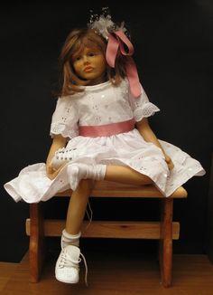 """Matilda, è la bambola di cui ho descritto la modellazione nel libro """"I segreti per realizzare bambole OOAK, corso avanzato."""